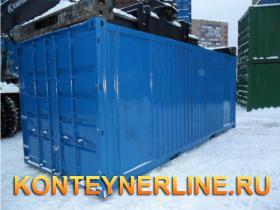 Варианты  контейнеров с покраской, без покраски, с предпродажной подготовкой (на фото 20 футовые контейнеры)